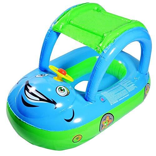 CuiXiang PCS Baby Pool Sonnenschirm Schwimmring Sitz Boot, Kleinkinder Lenkrad Aufblasbare Float Spielzeug, 30