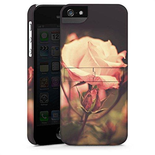 Apple iPhone X Silikon Hülle Case Schutzhülle Rosenblüten Blumen Pflanze Premium Case StandUp