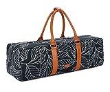 BAOSHA YG-01 Yoga Mat Bag Segeltuch Yogatasche Durchgehende Reißverschluss Tragetasche