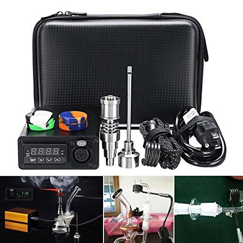 Dastrues Aromatherapie-Öl für die Wärmerückgewinnung der Temperaturkontrolle des Kit der E-Nail Box aus Elektrischer Titanlegierung 20mm EU-Stecker