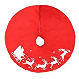 Weihnachten Hot Sale. lifetrend Country Christmas rot Skurril Santa Christmas Baum Rock