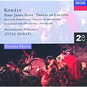 """Kod�ly: Variations on a Hungarian Folk Song for Orchestra, """"The Peacock"""" - 4. Andante espressivo (Variations XI-XII)"""