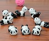 Fulla2116 niedliche Tiere Muster Keramik Ware Stäbchen Rest Rack Porzellan Löffel Gabel Messer Halter Ständer Panda
