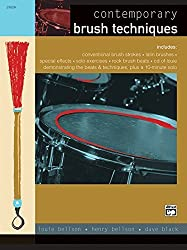Contemporary Brush Techniques: Book & CD by Louie Bellson (2000-09-01)