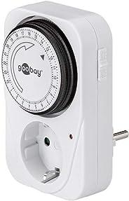 Goobay Zeitschaltuhr Analog mechanischer Timer für die Steckdose