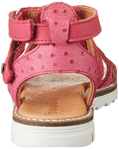 FRODDO Froddo Girls Sandal G3150097, Sandales  Bout ouvert fille Rot (Fuxia)
