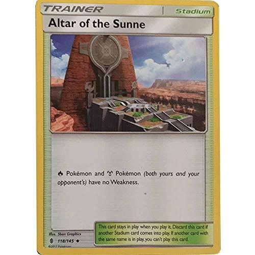 Pokemon Card Altar of The Sunne 118/145