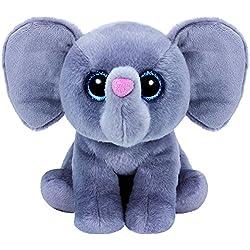 Ty - Classics Whopper, Elefante de Peluche, 23 cm, Color Gris (90230TY)