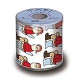 Toilettenpapier SANTA BOX OH! - 200 lustige Blätter
