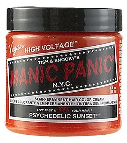 MANIC PANIC Cream Formula Semi-Permanent Hair Color - Psychedelic Sunset