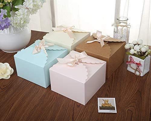 Chilly Geschenkboxen, 12 Stück Plätzchen Kuchen Leckereien Pralinen Geschenkbox