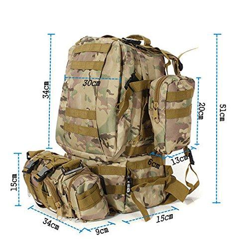 Pyrus 50 Liter Militär-Rucksack Camouflage