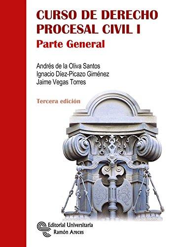 Curso de Derecho Procesal Civil I (Manuales) por Andrés de la Oliva Santos