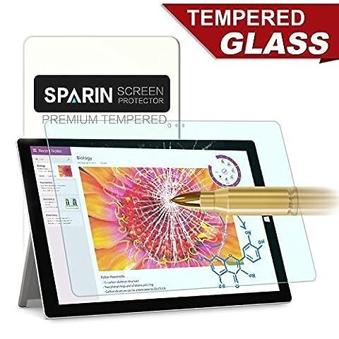 Surface 3 Protection D'écran, SPARIN Protecteur Ecran en Verre Trempé