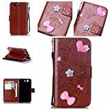 Best A-type Z3 Cases - For Sony Xperia Z3 Mini /Compact Case [Brown],Cozy Review