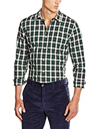 Dockers Laundered Poplin Shirt-Ls, Chemise Casual Homme