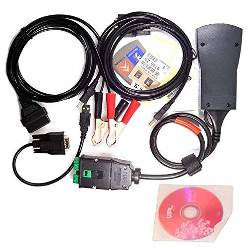 Preisvergleich Produktbild PP2000 Full Chip Lexia 3 OBDII OBD2 Diagbox V7.83 Automobildiagnosewerkzeug für Citroen Peugeot Auto