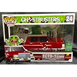 SDCC 2016 Exclusive Ghostbusters Red Ecto-1 with Slimer POP! Ride Vinyl Figure by FunKo