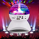 Modylee Luces de colores Led etapa inalámbrico Bluetooth Mini altavozaltavoces bluetooth , white