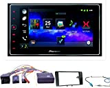 Komplett-Set Audi A3 8P/8PA Pioneer SPH-DA120 Bluetooth Android iPhone USB Apps