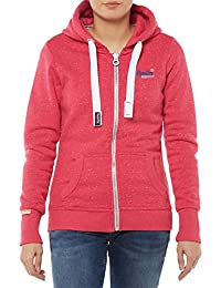 sweat superdry g20012xnf4 rose