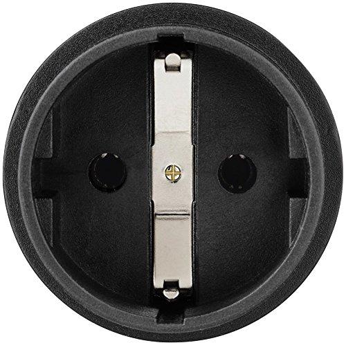 Hama Reisestecker USA Typ B (Adapter für Costa Rica, Kanada, Kuba, Jamaika, geeignet für Geräte mit deutschem Schutzkontaktstecker, Euro- oder Konturenstecker)