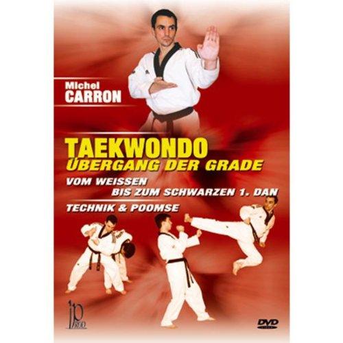Michel Carron - Taekwondo, Übergang der Grade