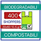 400 SHOPPER ORTOFRUTTA 30X60 SACCHETTI PLASTICA
