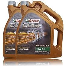 2x 5l = 10litros Castrol Edge Titanium fsttm 10W de 60Motor de aceite motores de aceite Incluye Castrol ölwechsel de colgante; Especificaciones/freigaben: Acea A3/B3, A3/B4; API SN/CF; VW 50101/50500; exclusiva BMW M F
