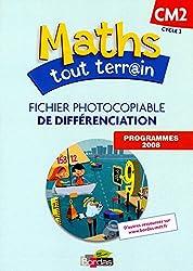 Maths tout terrain CM2  Fichier photocopiable de différenciation