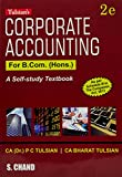 Tulsian's Corporate Accounting for B.Com. (Hons.)