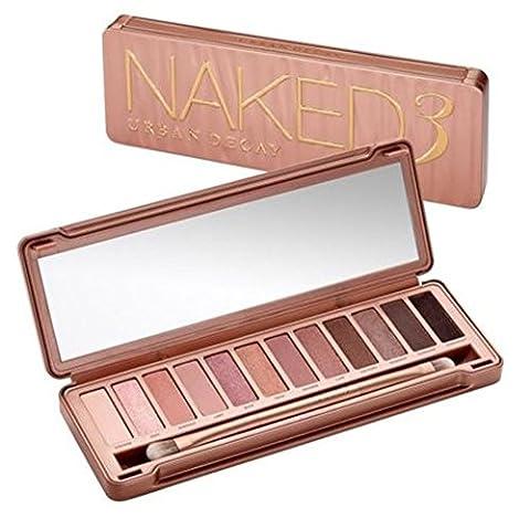 Urban Decay Naked 3 Professional Eye shadow Makeup Palette Kit Brush - XMAS GIFT!