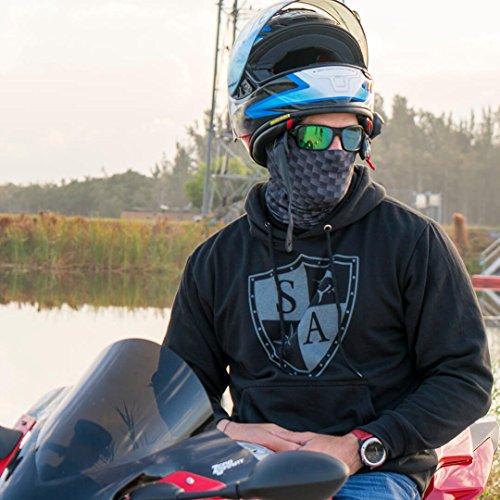 motocicletta per pesca sci Passamontagna in diversi modelli stati uniti paintball utilizzabile come maschera di Halloween SA Fishing Company