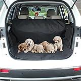 APlus Kofferraumschutz Hunde Kofferraumdecke für Hunde Autoschondecke Hundedecke Auto Kofferraumschutzdecke Auto Rückbank Schondecke Wasserdicht Schutzdecke Schwarz