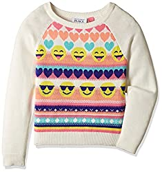 The Childrens Place Girls Jumper (2073317BQ_Multicolor_L (10/12))