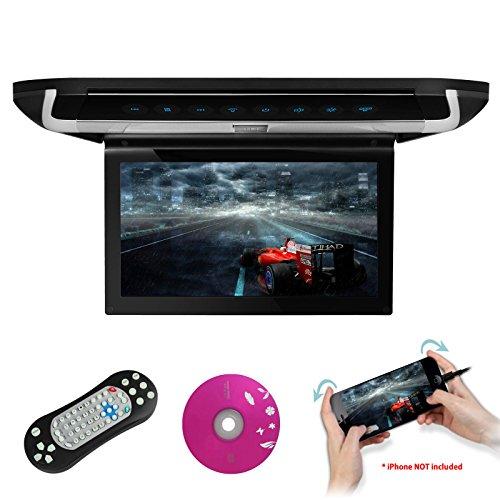 10.1 pulgadas reproductor de vídeo de 1080p coche Overhead montaje en techo monitor HDMI puerto