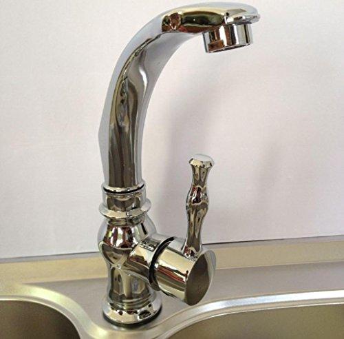 SUN-In lega di zinco Single Handle Kitchen Sink rubinetto del