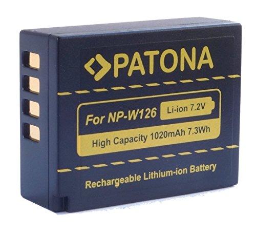 Bundlestar Patona Akku für Fujifilm NP-W126 und NP-W126s
