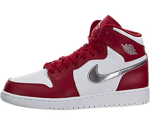 nike-air-jordan-1-retro-high-bg-basketball-trainers-man-color-red-gym-net-metallic-silver-white-size