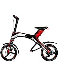 Weebot Robstep X1 Vélo Électrique Mixte Adulte, Rouge/Noir