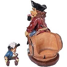 kraftz®–Cartoon pirata portabottiglie da tavolo vino rack portabottiglie decorative