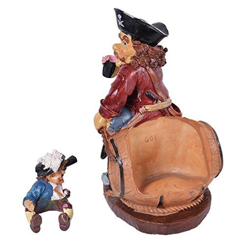 kraftz®-Cartoon pirata portabottiglie da tavolo vino rack portabottiglie decorative