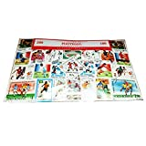 Weltweit Fussball Soccer Stamp Collection!, 100 Stück, Souvenir, alle unterschiedlich! Baked/Speicher Memoria! sehr vielen, vielen Stamps Stempel aus der ganzen Welt!!/Timbre verschiedene Stempel/Francobollo/Sello!