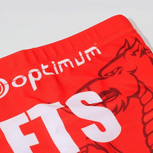 Optimum Optimale Men's Tackle Slip Unterwäsche Scarlets