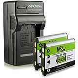 Chargeur + 2x Batterie NP-45 pour Fujifilm FinePix J10 J12 J15 J15 fd J20 J25 J26 J27J28 J29J30J32 J37 J38 J100 J110w J120 J150w J210 J250 JV100 JV105 JV110 JV150 JV160 JV200 JV205 JV250