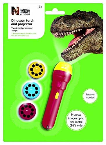 6x el Museo de Historia Natural dinosaurios linterna y proyector