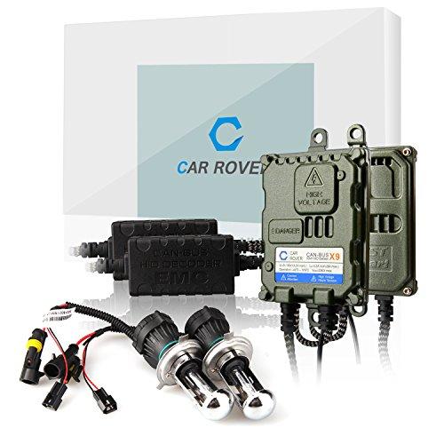 Car Rover® H4-3 Canbus Bixenon Kit Xenon HID Senza Errori Decodifica Ballast 55W Lampadina del Faro 5000K