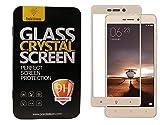 Parallel Universe Xiaomi Redmi 4A Original Edge to Edge 3D Tempered Glass screen protector - Gold