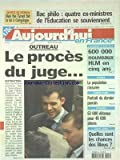 AUJOURD'HUI EN FRANCE [No 930] du 10/06/2004 - BAC PHILO - 4 EX-MINISTRES DE L'EDUCATION SE SOUVIENNENT - OUTREAU - LE PROCES DU JUGE - 600 000 NOUVEAU HLM EN 5 ANS - EPINAY - LA POPULATION RASSUREE - BANDITISME - PORTRAIT DU DERNIER PARRAIN - 63 000 DETENUS POUR 48 000 PLACES - LES SPORTS - FOOT EURO 2004