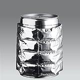 ich-zapfe.de Kühlmanschette, Kunststoff, Silber 20 x 15 x 2 cm